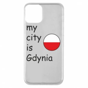 Etui na iPhone 11 My city is Gdynia - PrintSalon
