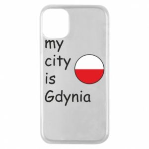 Etui na iPhone 11 Pro My city is Gdynia - PrintSalon