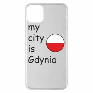Etui na iPhone 11 Pro Max My city is Gdynia - PrintSalon