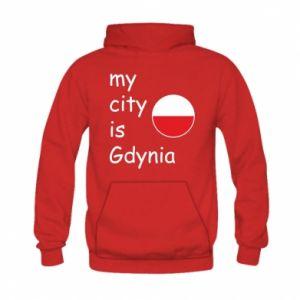 Kid's hoodie My city is Gdynia