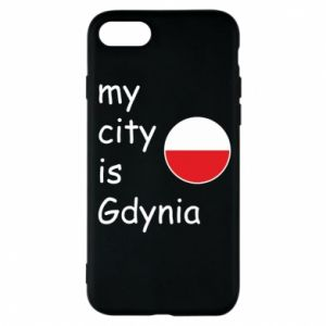 Etui na iPhone 8 My city is Gdynia - PrintSalon