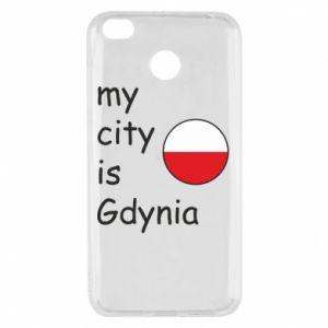 Xiaomi Redmi 4X Case My city is Gdynia