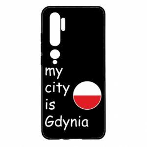 Xiaomi Mi Note 10 Case My city is Gdynia