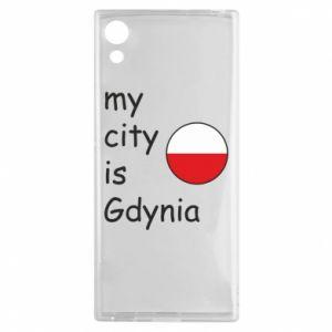 Sony Xperia XA1 Case My city is Gdynia