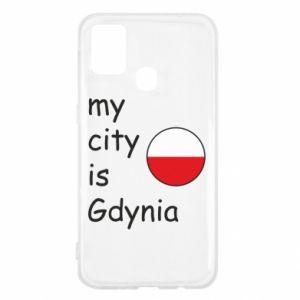Samsung M31 Case My city is Gdynia