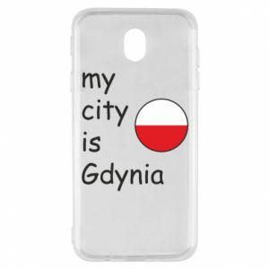 Samsung J7 2017 Case My city is Gdynia