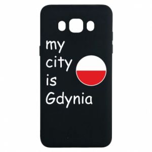 Samsung J7 2016 Case My city is Gdynia
