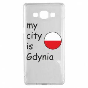 Samsung A5 2015 Case My city is Gdynia