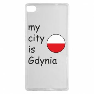 Huawei P8 Case My city is Gdynia