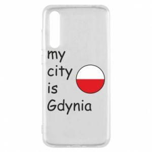 Huawei P20 Pro Case My city is Gdynia