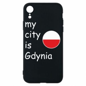 Etui na iPhone XR My city is Gdynia - PrintSalon