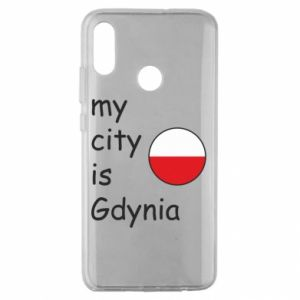 Huawei Honor 10 Lite Case My city is Gdynia