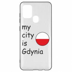 Samsung A21s Case My city is Gdynia