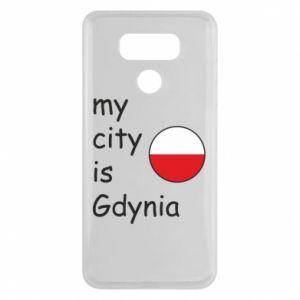 LG G6 Case My city is Gdynia