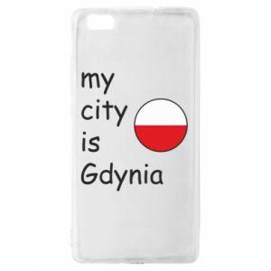 Huawei P8 Lite Case My city is Gdynia