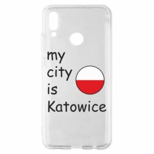 Huawei P Smart 2019 Case My city is Katowice