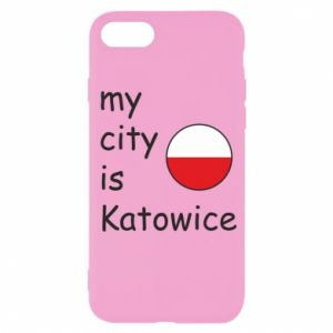 iPhone SE 2020 Case My city is Katowice