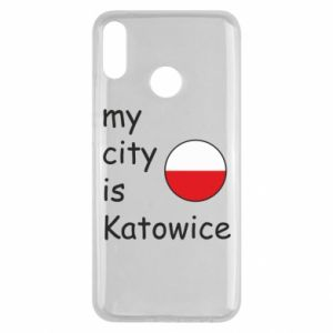 Huawei Y9 2019 Case My city is Katowice