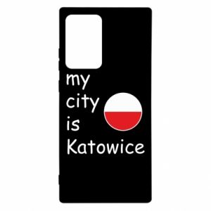 Samsung Note 20 Ultra Case My city is Katowice