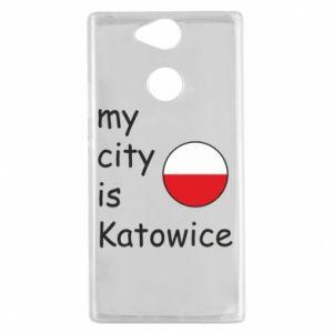 Sony Xperia XA2 Case My city is Katowice