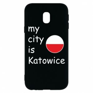 Phone case for Samsung J3 2017 My city is Katowice