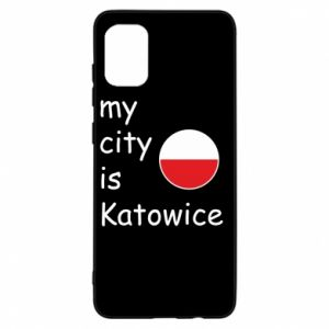Samsung A31 Case My city is Katowice
