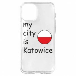 iPhone 12 Mini Case My city is Katowice