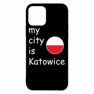iPhone 12/12 Pro Case My city is Katowice