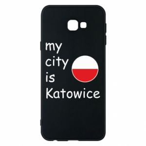 Phone case for Samsung J4 Plus 2018 My city is Katowice