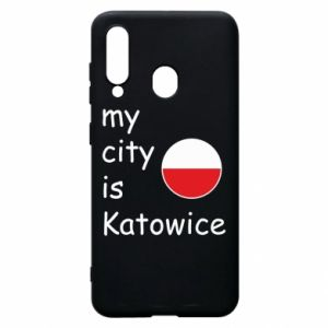 Phone case for Samsung A60 My city is Katowice
