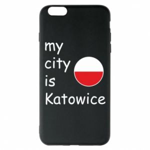 Phone case for iPhone 6 Plus/6S Plus My city is Katowice