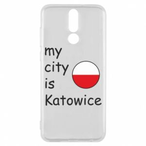 Huawei Mate 10 Lite Case My city is Katowice