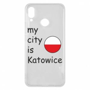 Phone case for Huawei P Smart Plus My city is Katowice