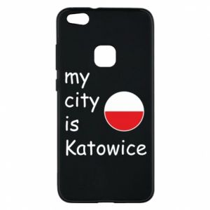 Phone case for Huawei P10 Lite My city is Katowice