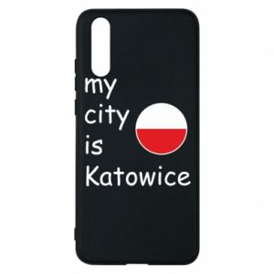 Phone case for Huawei P20 My city is Katowice