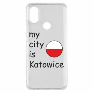 Phone case for Xiaomi Mi A2 My city is Katowice