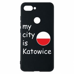 Phone case for Xiaomi Mi8 Lite My city is Katowice