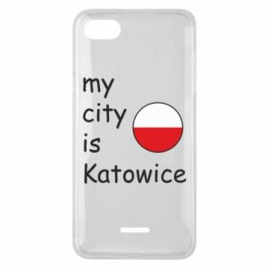 Phone case for Xiaomi Redmi 6A My city is Katowice