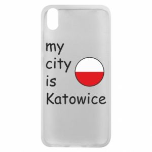 Phone case for Xiaomi Redmi 7A My city is Katowice