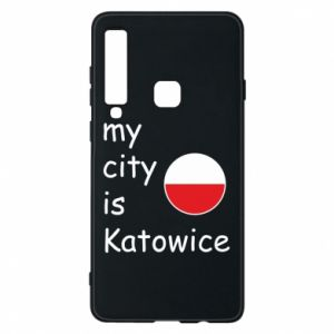 Phone case for Samsung A9 2018 My city is Katowice