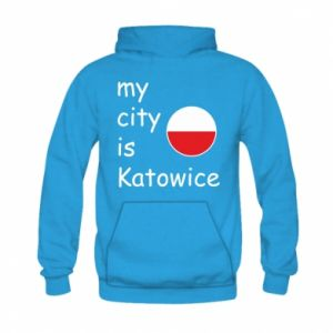 Kid's hoodie My city is Katowice