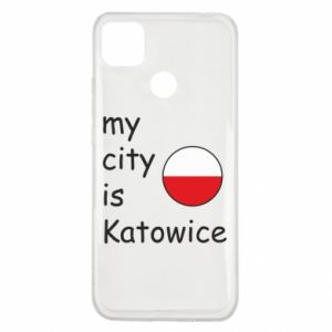 Xiaomi Redmi 9c Case My city is Katowice