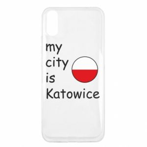 Xiaomi Redmi 9a Case My city is Katowice