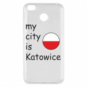 Xiaomi Redmi 4X Case My city is Katowice