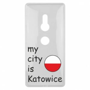 Sony Xperia XZ2 Case My city is Katowice