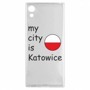 Sony Xperia XA1 Case My city is Katowice