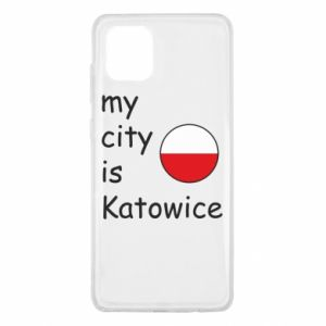 Samsung Note 10 Lite Case My city is Katowice