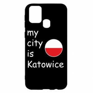 Samsung M31 Case My city is Katowice