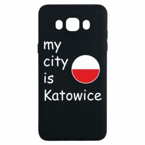 Samsung J7 2016 Case My city is Katowice