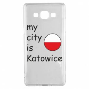 Samsung A5 2015 Case My city is Katowice